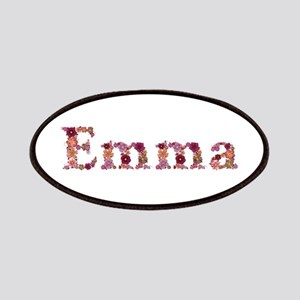 Emma Pink Flowers Patch