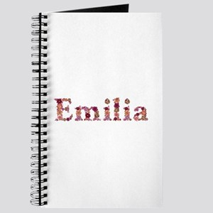 Emilia Pink Flowers Journal