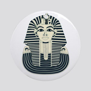 King Tut Ornament (Round)