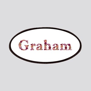 Graham Pink Flowers Patch