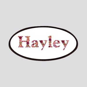 Hayley Pink Flowers Patch