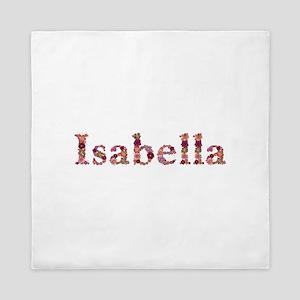 Isabella Pink Flowers Queen Duvet