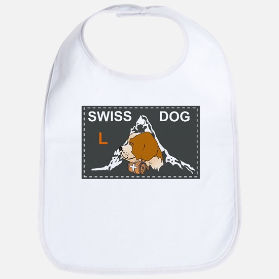 Label swiss dog 3 Bib