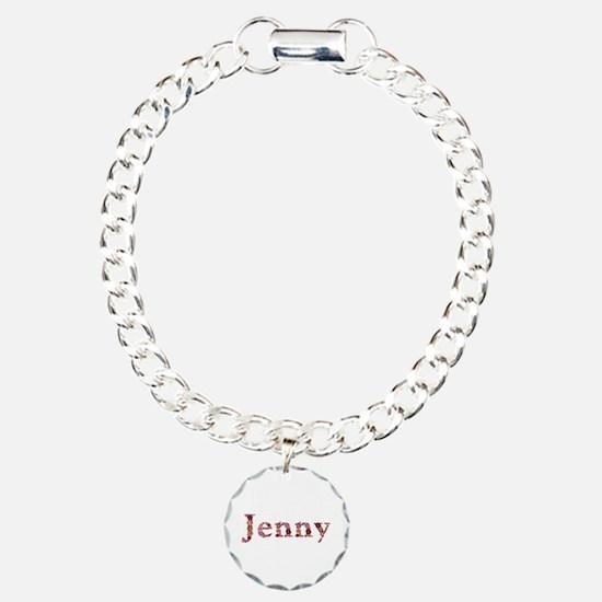 Jenny Pink Flowers Bracelet