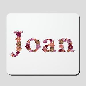 Joan Pink Flowers Mousepad