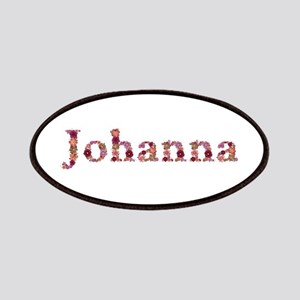 Johanna Pink Flowers Patch
