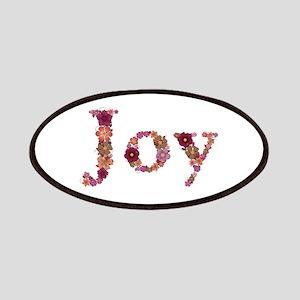 Joy Pink Flowers Patch