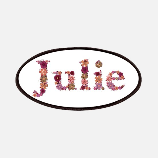 Julie Pink Flowers Patch