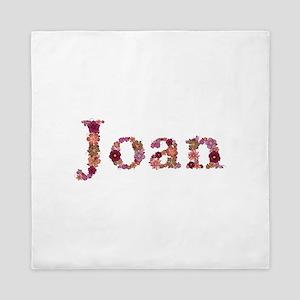 Joan Pink Flowers Queen Duvet
