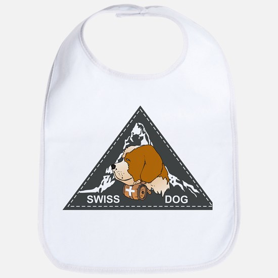 Label swiss dog 1 Bib