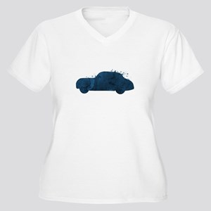 Car Plus Size T-Shirt