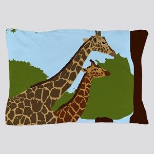 Giraffes Pillow Case
