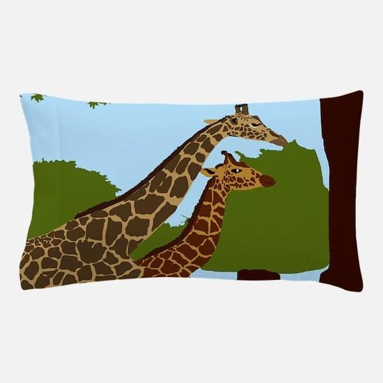 Giraffes Pillow Case