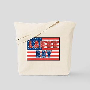 USA Labor Day Tote Bag