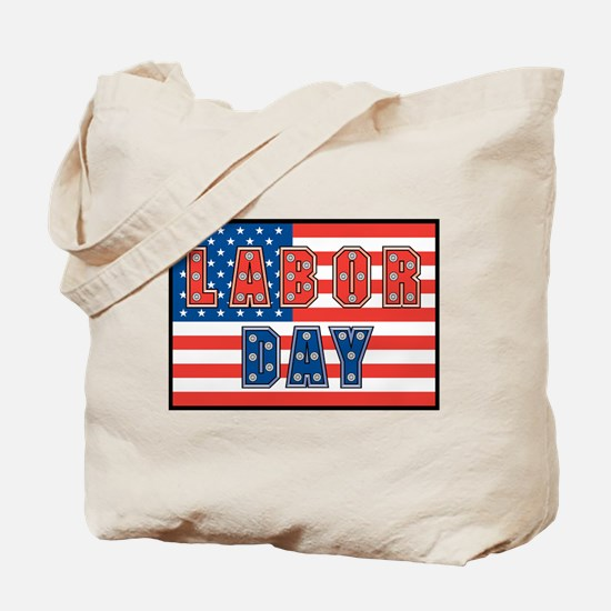 USA Labor Day Tote Bag