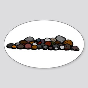 Pile of Rocks Sticker
