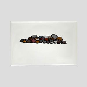 Pile of Rocks Magnets