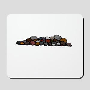 Pile of Rocks Mousepad
