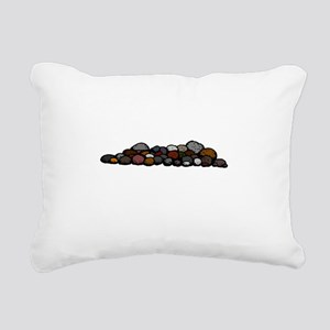 Pile of Rocks Rectangular Canvas Pillow