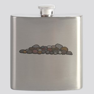 Pile of Rocks Flask