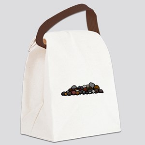 Pile of Rocks Canvas Lunch Bag