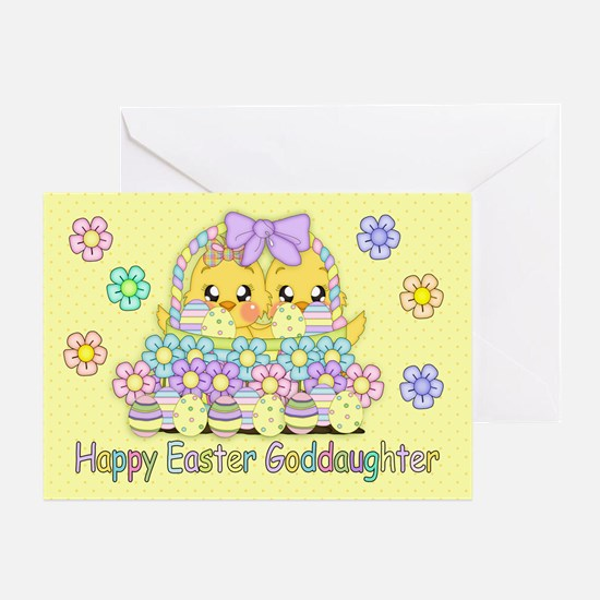 Gifts for goddaughter easter unique goddaughter easter gift goddaughter cute easter chicks greeting card negle