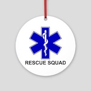 BSL Rescue Squad Ornament (Round)