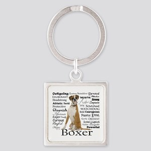 Boxer Traits Keychains