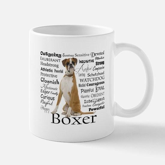 Boxer Traits Mugs