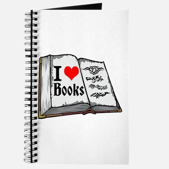 I heart books Journal