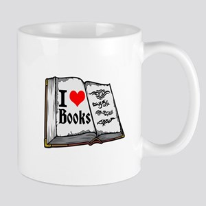 I heart books Mugs