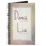 """Dance & Live"" Dance Journal"