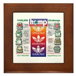 AAA Hemp Framed Tile