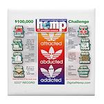 AAA Hemp Tile Coaster