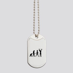 Female Weightlifter Evolution Dog Tags
