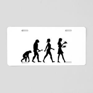 Waitress Evolution Aluminum License Plate