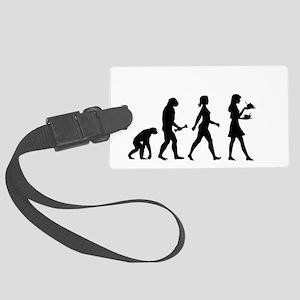 Waitress Evolution Luggage Tag