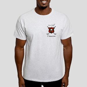 Clan Cameron - Love Golf Light T-Shirt