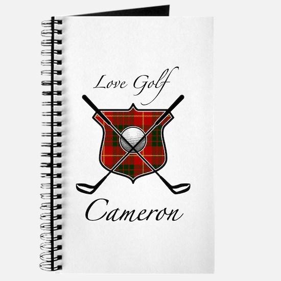 Clan Cameron - Love Golf Journal