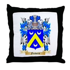 Feavers Throw Pillow