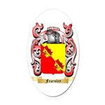 Fearnley Oval Car Magnet
