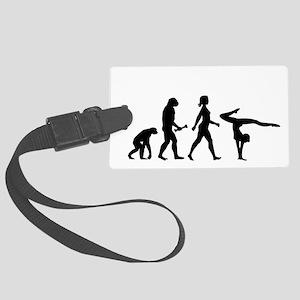 Gymnast Evolution Luggage Tag