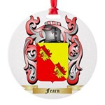 Fearn Round Ornament