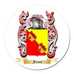 Fearn Round Car Magnet
