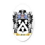 Fealy Oval Car Magnet