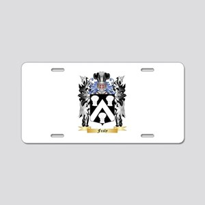 Fealy Aluminum License Plate