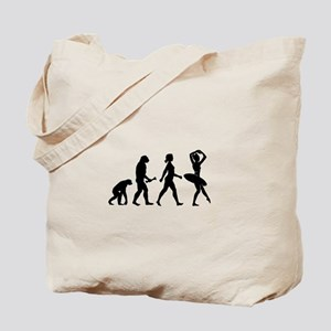 Ballerina Evolution Tote Bag