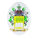 Fayette Ornament (Oval)