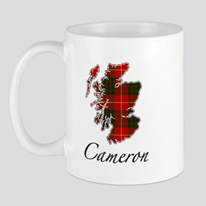 Can Cameron Scotland Map Mug