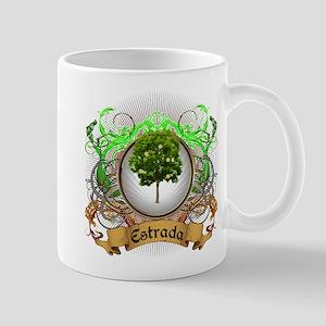 Estrada Family Crest Mug